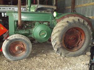 John Deere Model D Antique tractor