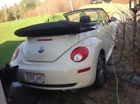 2006 VW new beetle convertible