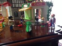 Playmobil cafe and hotel