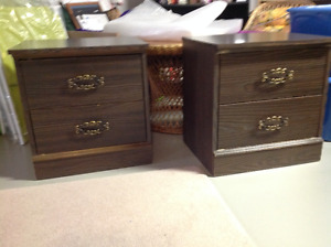 2-2 drawer night tables