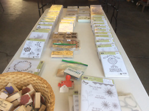 Retired Stampin' Up products - cheap!