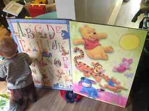 Winnie the Pooh Wall plaques Cambridge Kitchener Area image 1