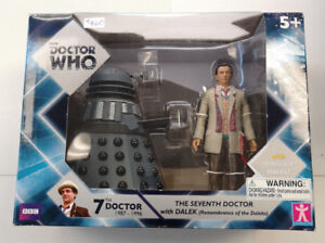 BBC Doctor Who The 7th Doctor with Renagade Dalek