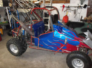 1995 open wheel go cart /2008 trx 450r mint shape open trades