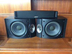 Bose 301 speakers with matching centre channel