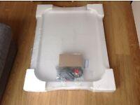 Shower Tray (White) 'Roklite' By Jacuzzi 900 x 760 Brand New