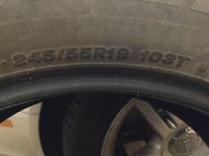 Bridgestone Dueler H/L new car takeoffs, just 4200KM!