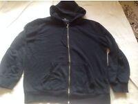 Easy men's hoodies full zipper size L used £2