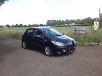 24/7 Trade sales NI Trade Prices for the public 2007 Peugeot 307 1.6 HDI S Black 5 Door