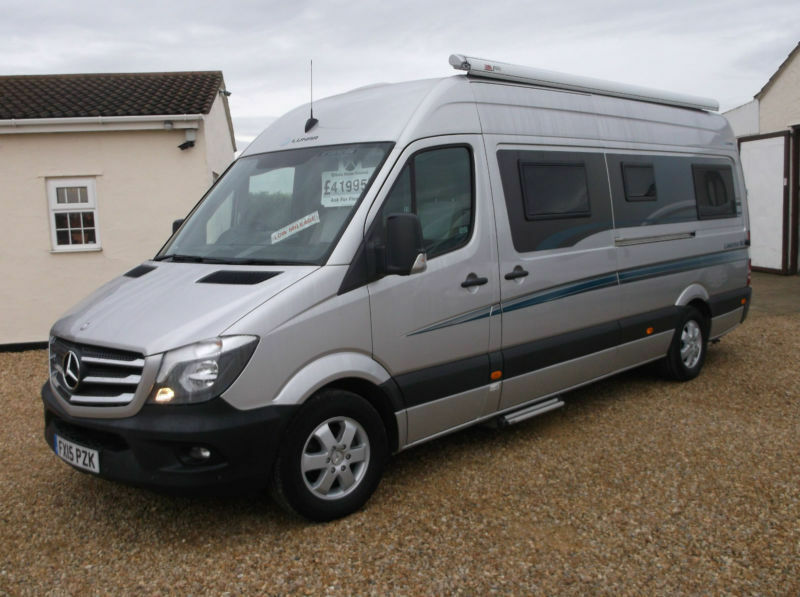 Mercedes benz lunar landstar rl automatic camper motorhome for Mercedes benz camper for sale