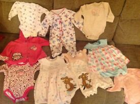 Baby girl Bundle new born and up to 3 months