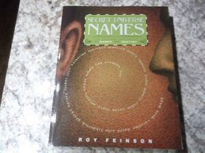 THE SECRET UNIVERSE OF NAMES-SOFTCOVER