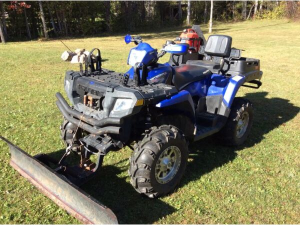 Used 2007 Polaris 800 sportsman x2 deluxe