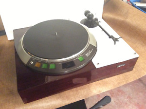 High end Denon DP-72L turntable, ortofon cartridge, ariston arm