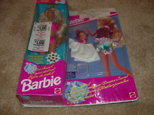 1993 Sun Jewel Barbie with bonus accessory pack- New, Sealed