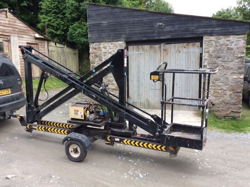 Cherry picker lift hydraulic platform in tavistock devon gumtree cherry picker lift hydraulic platform sciox Gallery