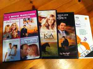 Set of 4 DVDs which includes 7 movies