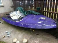 Project speedboat £80ono