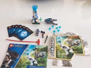 Lego CHIMA # 70106 Ice Tower - complet - discontinué