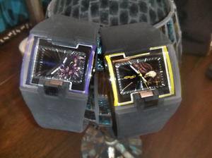 2 Ed Hardy watches