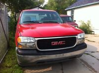 1999 99 GMC SIERRA EXTENDED CAB 1500 1/2 TON 2 WD TRUCK SAFETIED