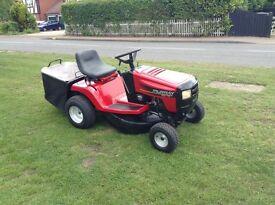 Murray 125/76 petrol ride on mower rear grass box 12.5hp