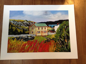Beautiful NL print by Clifford George