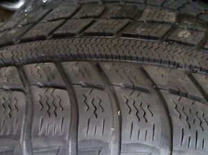 Two MICHELIN 205/60R16 tires on winter rims, $175 for both