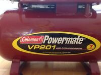 Coleman Powermate VP201 Air compressor