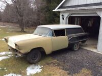 1958 Pontiac sedan delivery 52 made only in Canada  rare car