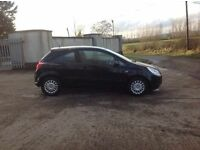 24/7 Trade sales NI Trade Prices for the public 2007 Vauxhall corsa 1.0 Life 3 Door Black full mot
