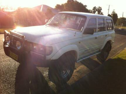 80 series CRUISER SWAP 4X4 UTE Cessnock Cessnock Area Preview