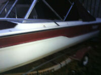 bowrider tempest 16ft with trailer