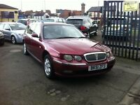 2002 MODEL ROVER 75 CLUB CDTI TOURER BMW ENGINE FULL MOT FULL TANK OF FUEL *SALE*