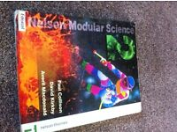 Modular science book by edexcel