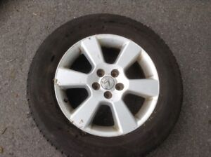 Lexus/Toyota mags with Yokohama Summer tires 225/65/17 like new