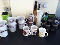 Tea/ coffee mugs