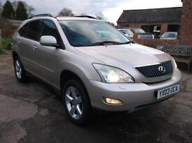 Lexus RX 300 3.0 SE New Shape With Full Lexus And Specialist Service History.