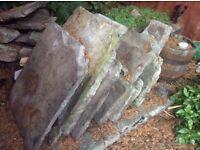 Yorkshire stone slabs