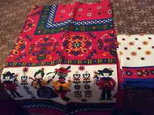Swiss Alpine new vintage tablecloth set Belleville Belleville Area image 1