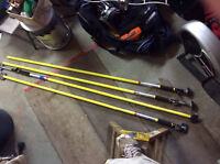 Quick support rods