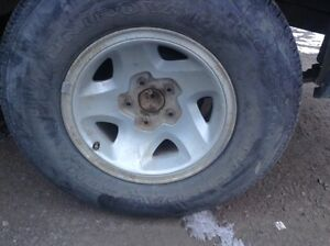 Looking for a rim or set of rims for a 1996 Chevy Blazer