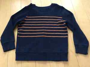 Old navy worn once boys striped sweater Size 5 London Ontario image 1