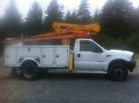 Bucket Truck For Hire