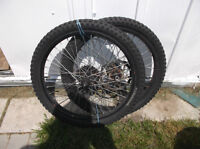 Rims,tires,tubes Front with Brake Rotor