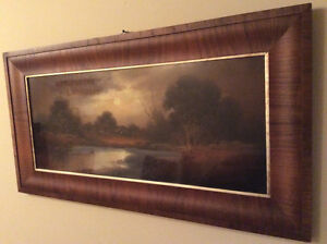 Early 1900s Antique WILLIAM HENRY CHANDLER Pastel