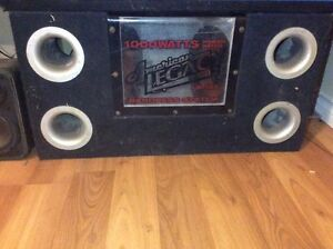 """10"""" legacy subs 100 OR BEST OFFER"""