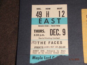 ROCK CONCERT TICKET STUBS Kitchener / Waterloo Kitchener Area image 3