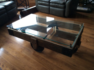 BEAUTIFUL PSEUDO ANTIQUE CENTRE TABLE - PRICE REDUCED