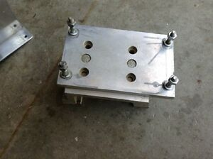 Go kart 4 cycle motor mount